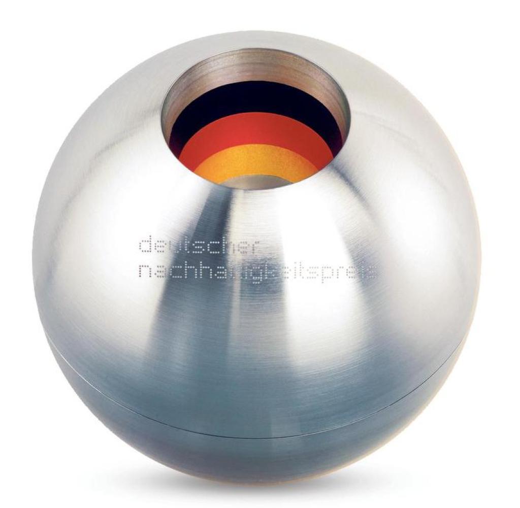 Silberne Kugel, Preis Deutscher Nachhaltigkeitspreis, DNP2021
